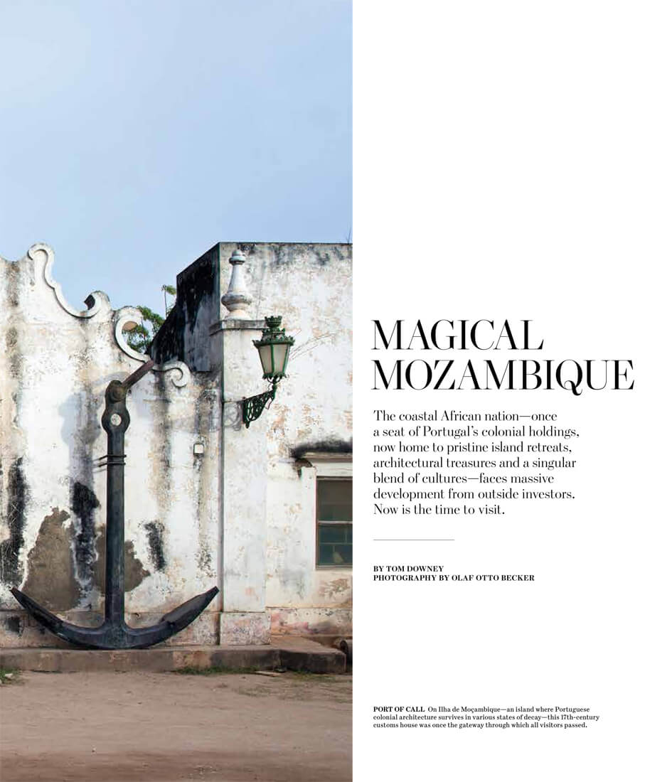 WSJ. Magazine – The Allure of Mozambique