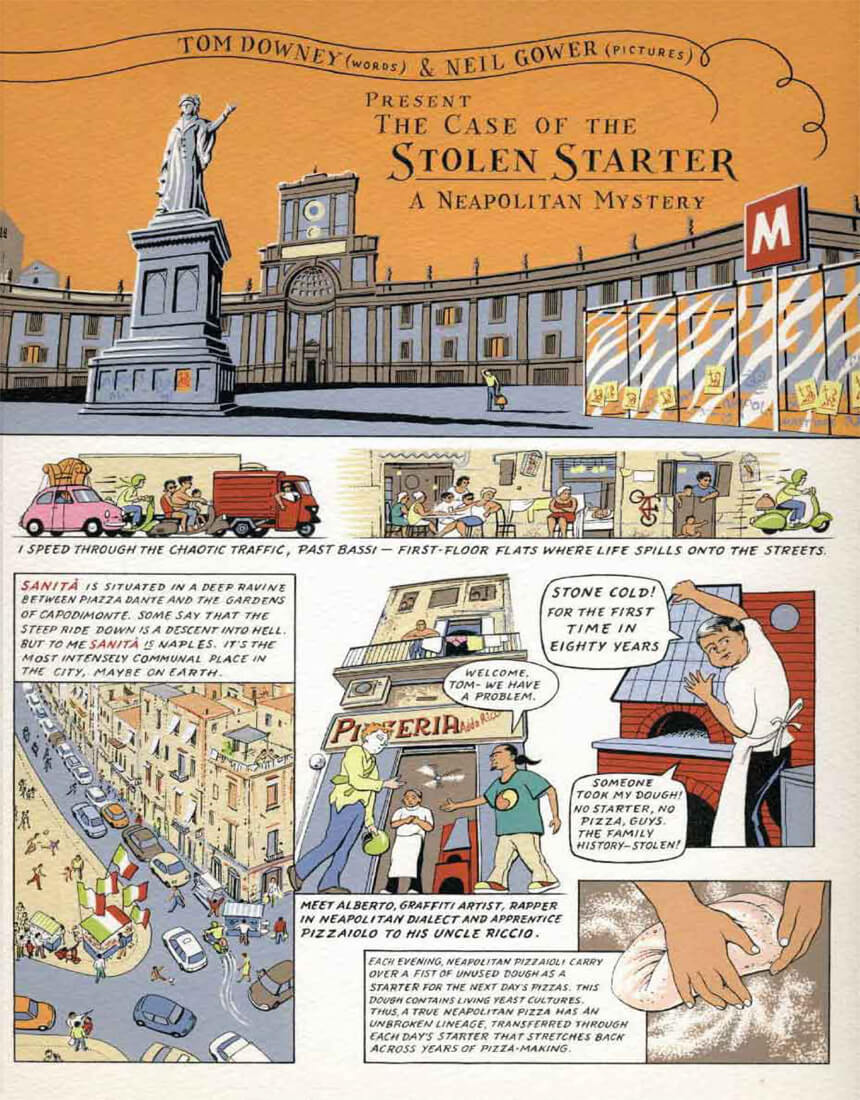 Conde Nast Traveler – The Case of the Stolen Starter