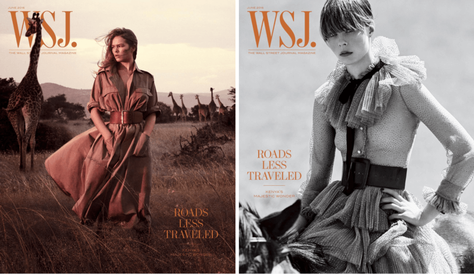 WSJ. Magazine – Walk on the Wild Side