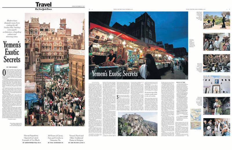The New York Times – Yemen's Exotic Secrets