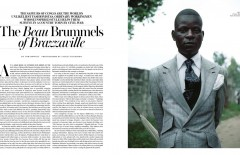 WSJ. Magazine - The Beau Brummels of Brazzaville