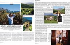 WSJ. Magazine - South Africa's Sommelier