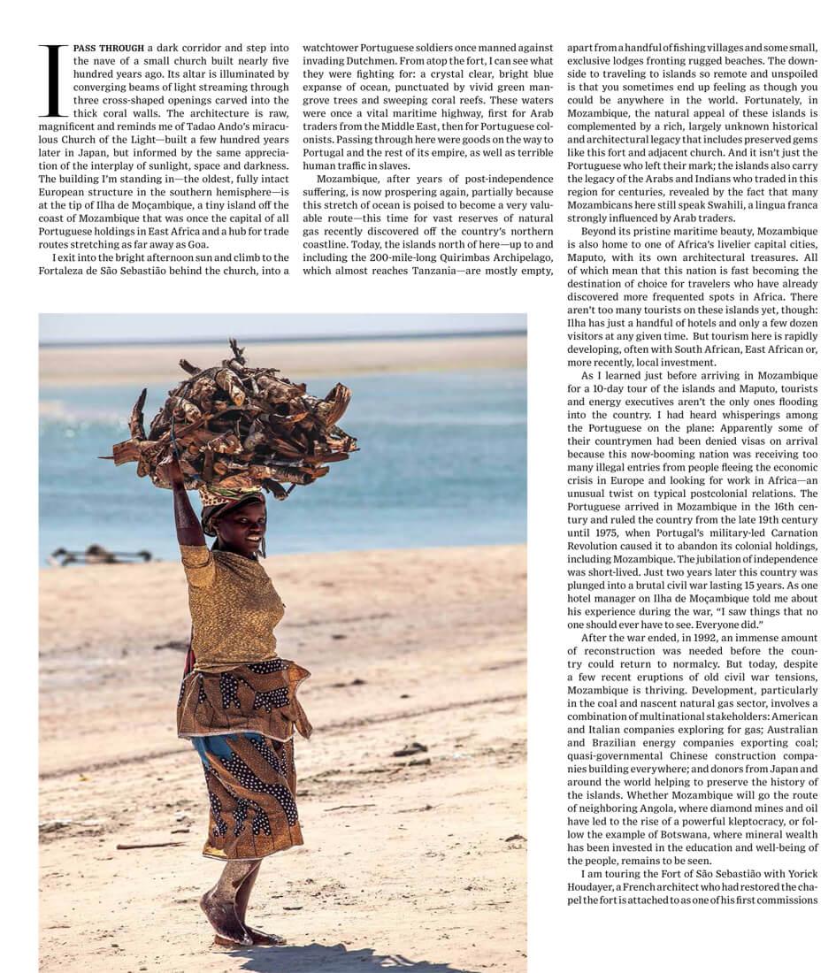 WSJ. Magazine – The Allure of Mozambique
