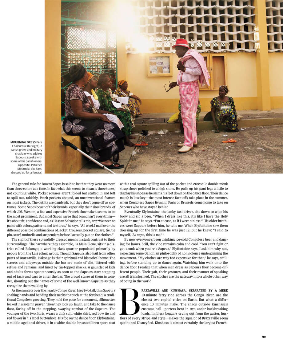 WSJ. Magazine – The Beau Brummels of Brazzaville