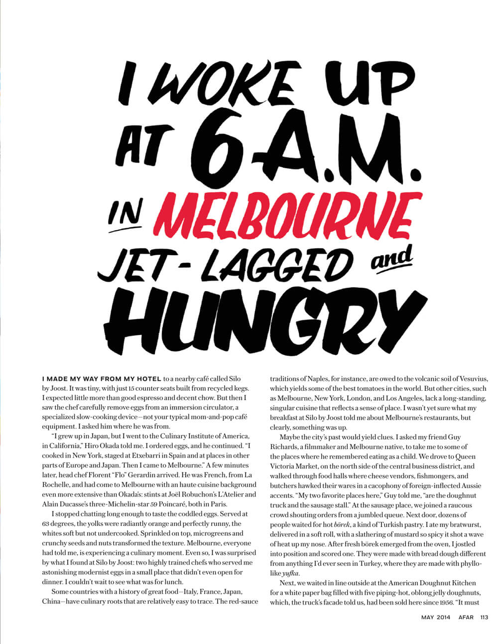 Afar – Melbourne's Creative Spark