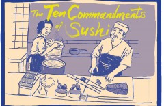Medium's Gone - The Ten 'Commandments' of Sushi