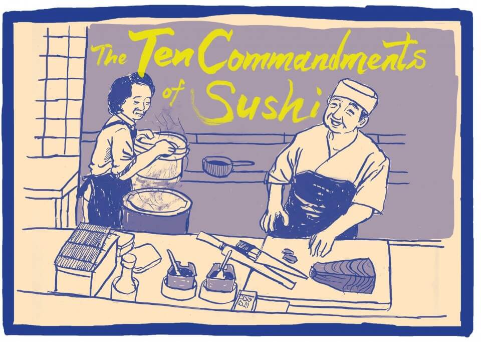Medium's Gone – The Ten 'Commandments' of Sushi