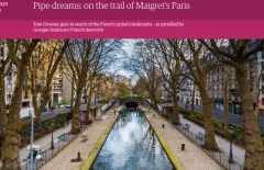 The Guardian - Pipe Dreams: on the trail of Maigret's Paris