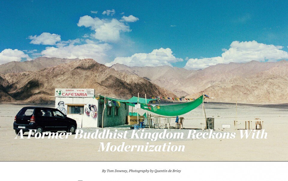 WSJ Magazine – A Former Buddhist Kingdom Reckons with Modernization